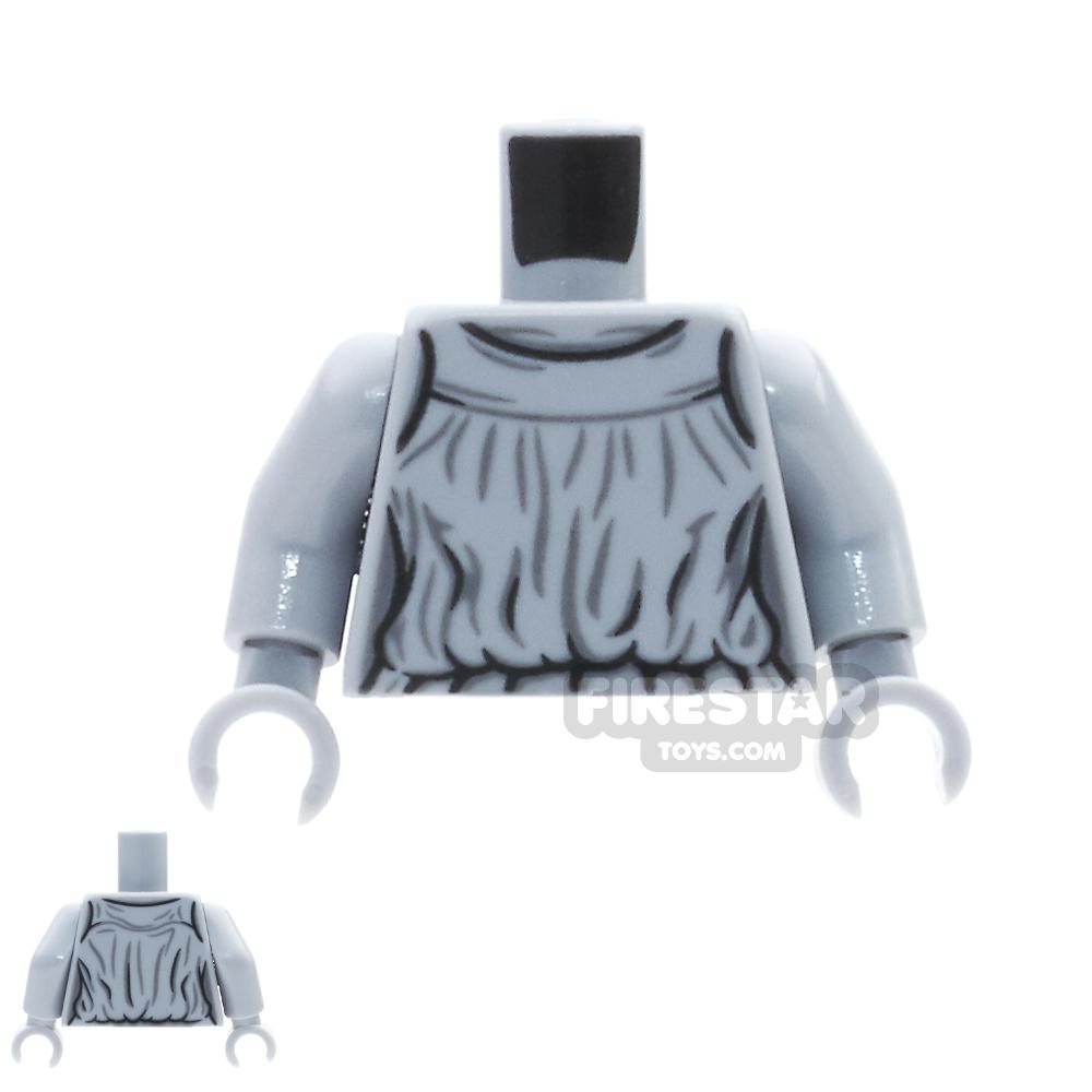 LEGO Mini Figure Torso - Weeping Angel