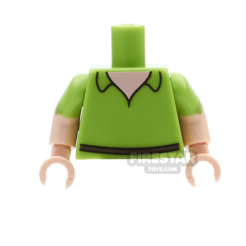 LEGO Mini Figure Torso - Peter Pan