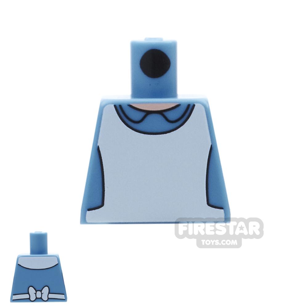 LEGO Mini Figure Torso - Alice In Wonderland - No Arms