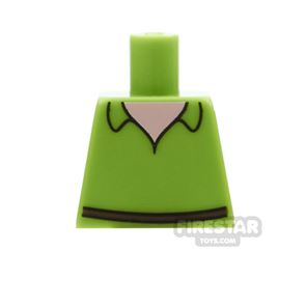 LEGO Mini Figure Torso - Peter Pan - No Arms