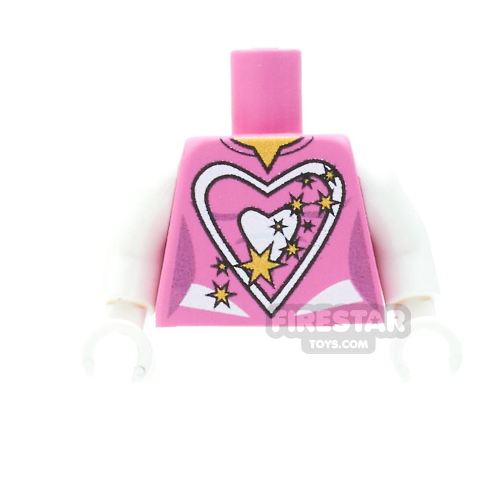 Custom Design Torso - Super Hero Top - Female - Pink
