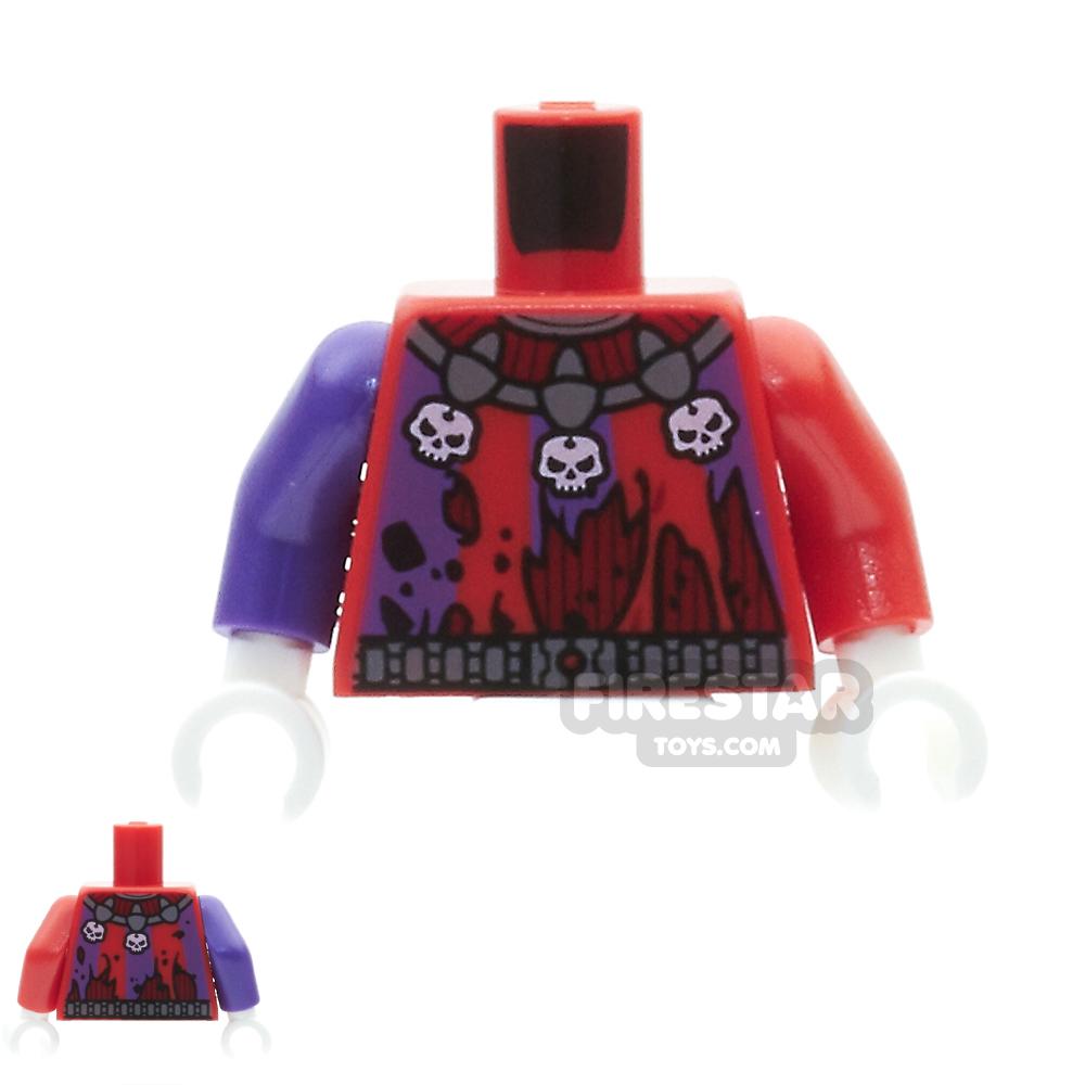 LEGO Mini Figure Torso - Jestro