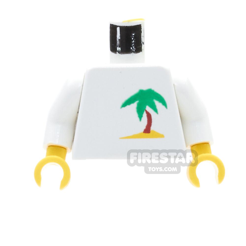 LEGO Mini Figure Torso - Paradisa Palm Tree