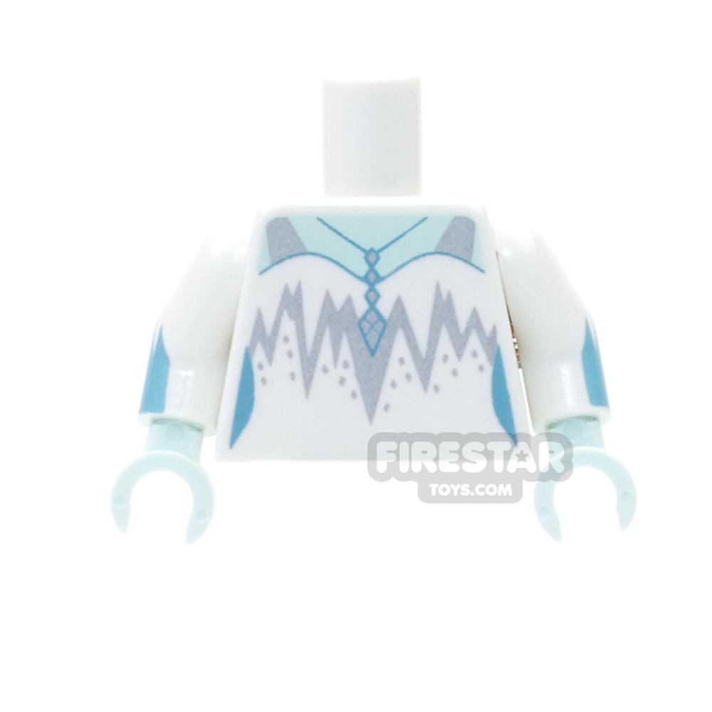 LEGO Mini Figure Torso - Ice Queen