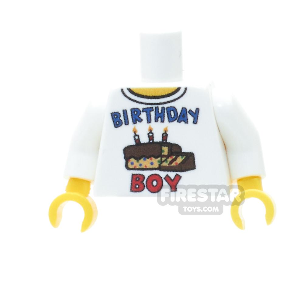 Custom Design Torso - Celebration - Birthday Boy