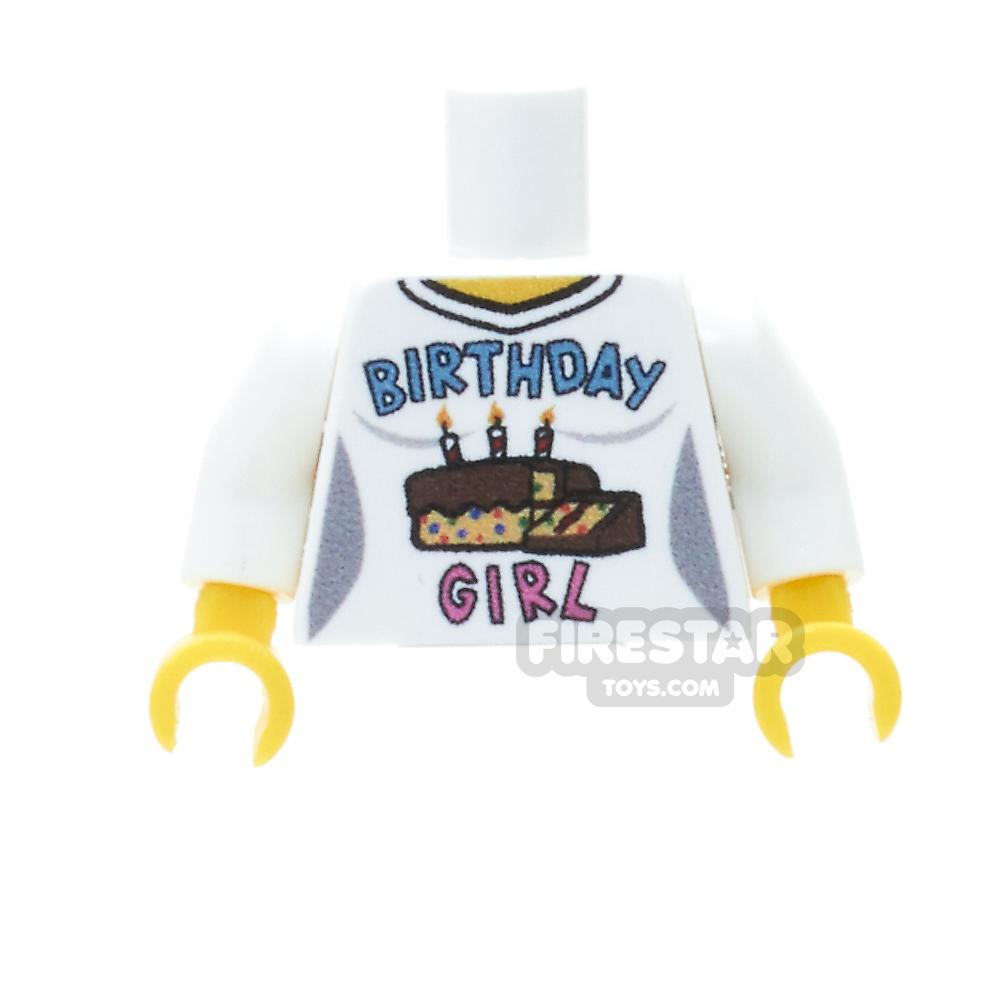 Custom Design Torso - Celebration - Birthday Girl