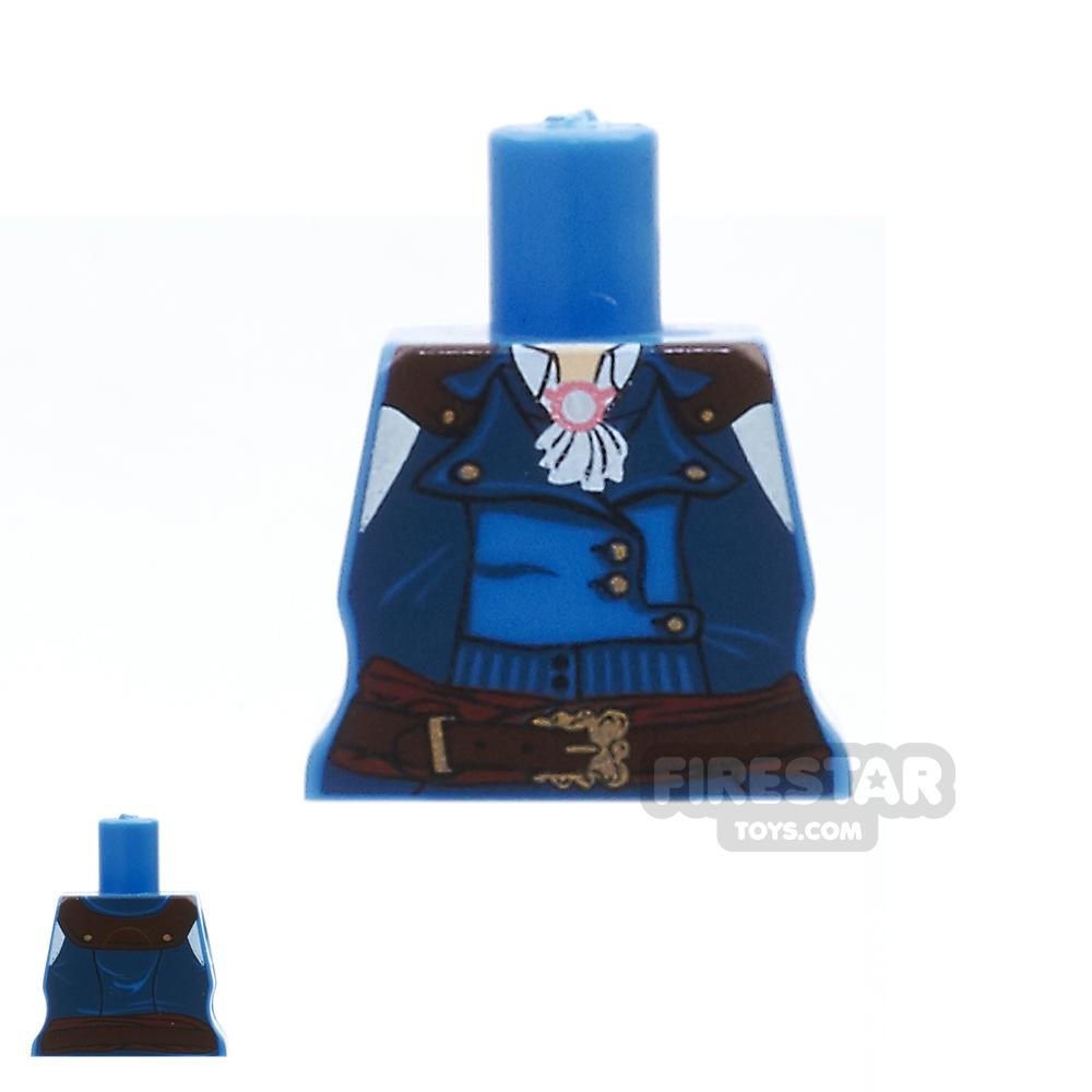 Arealight Mini Figure Torso - Revolter's Coat - Blue