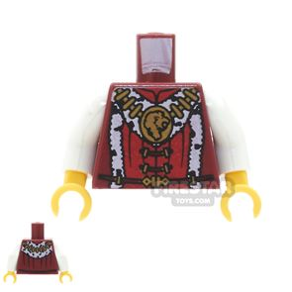 LEGO Mini Figure Torso - Prince