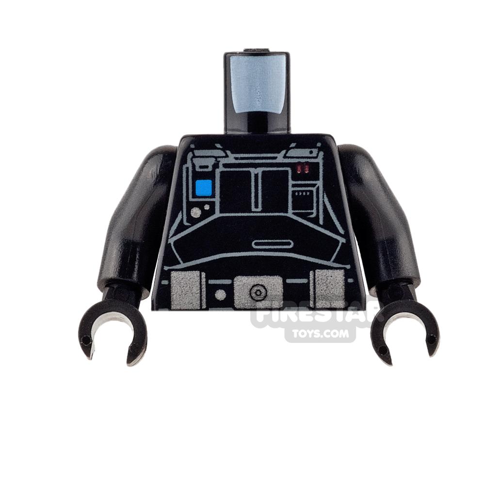 LEGO Mini Figure Torso - Imperial Ground Crew Jumpsuit