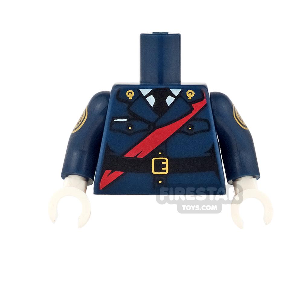 LEGO Mini Figure Torso - Batman - Barbara Gordon Police Uniform