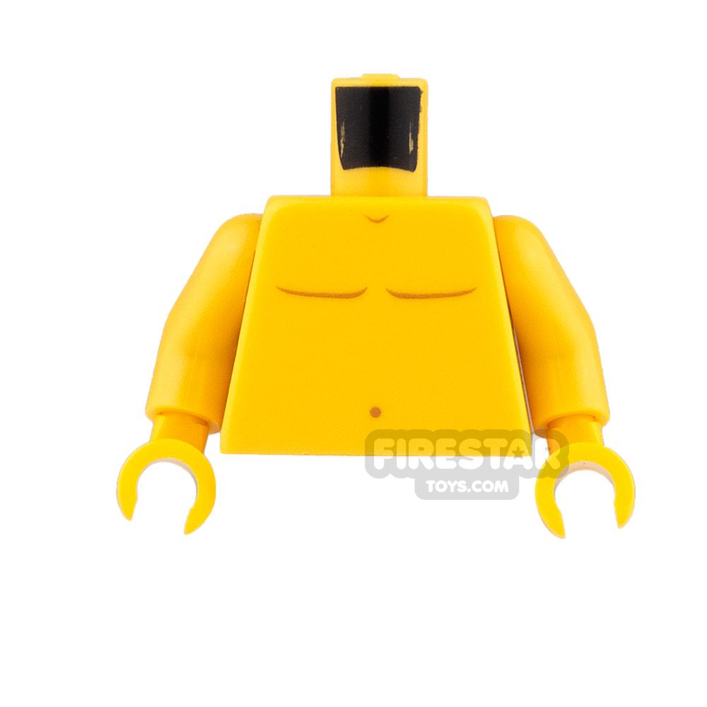 LEGO Mini Figure Torso - Bare Chest