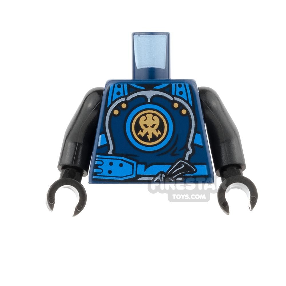 LEGO Mini Figure Torso - Jay - Hands of Time