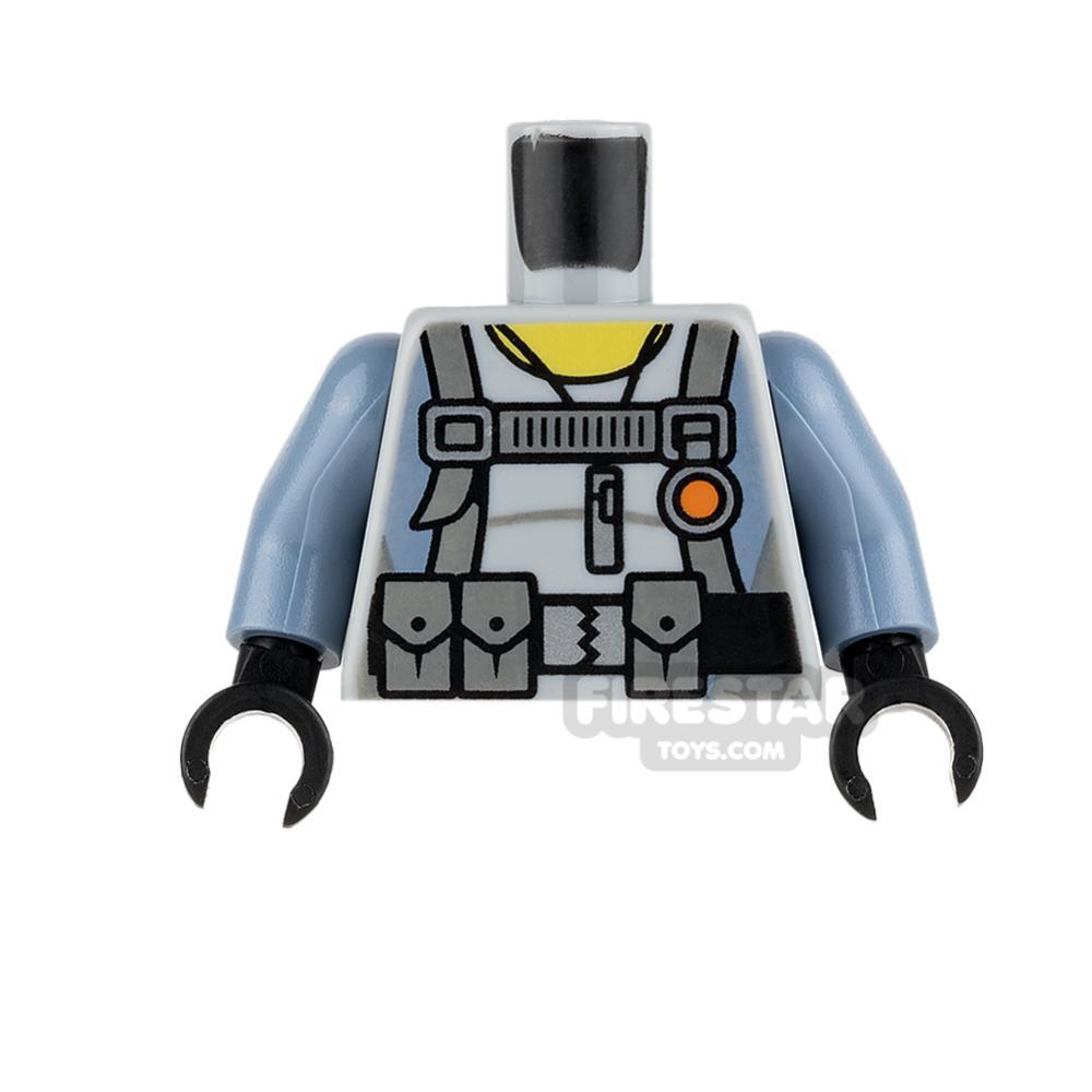 LEGO Mini Figure Torso - Scuba Suit with Utility Belt