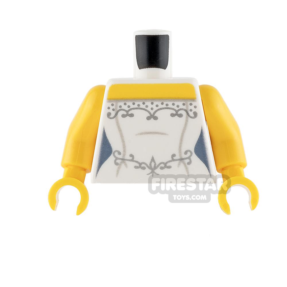 LEGO Mini Figure Torso - Bride Wedding Dress