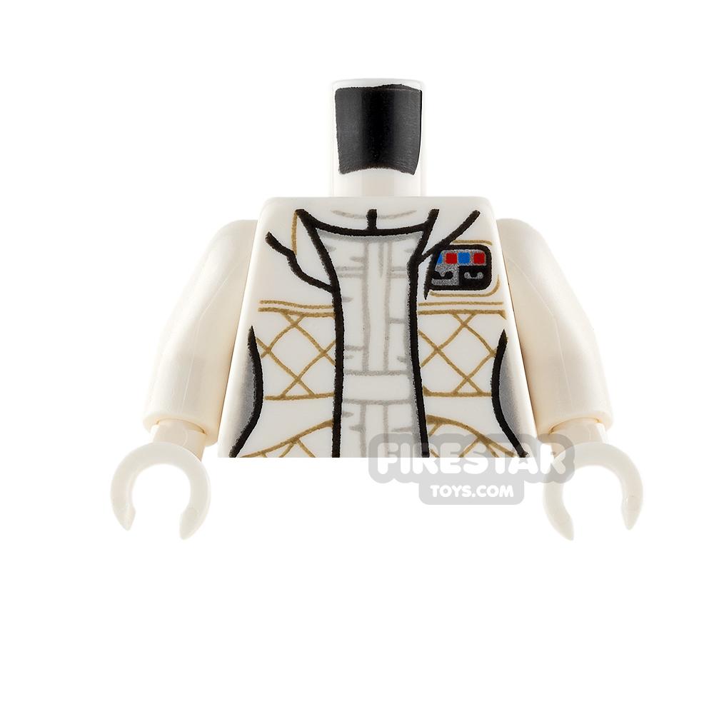 LEGO Minifigure Torso Leia Checkered Jacket