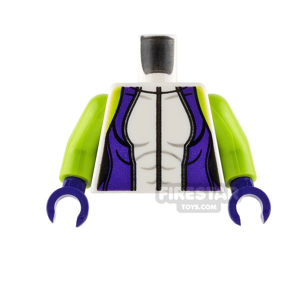 LEGO Mini Figure Torso - She-Hulk