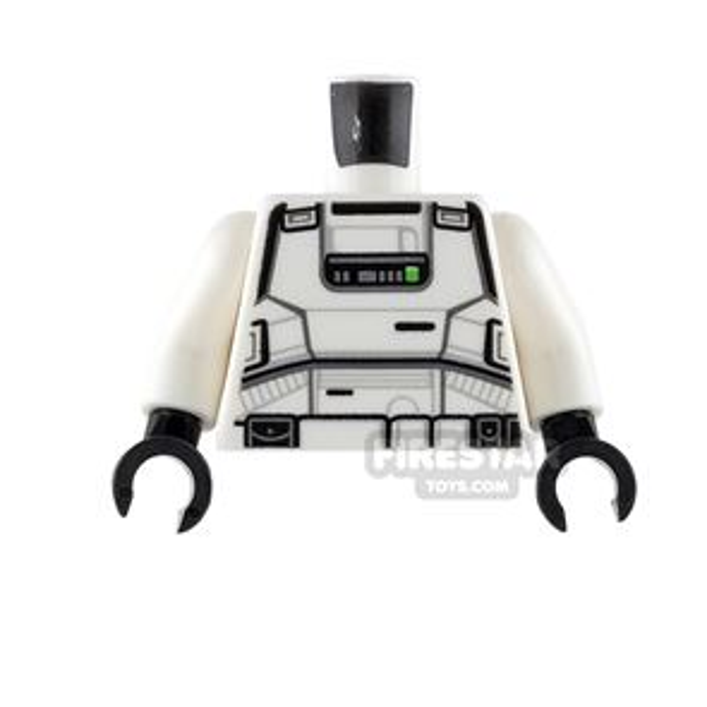 LEGO Mini Figure Torso - Imperial Patrol Trooper