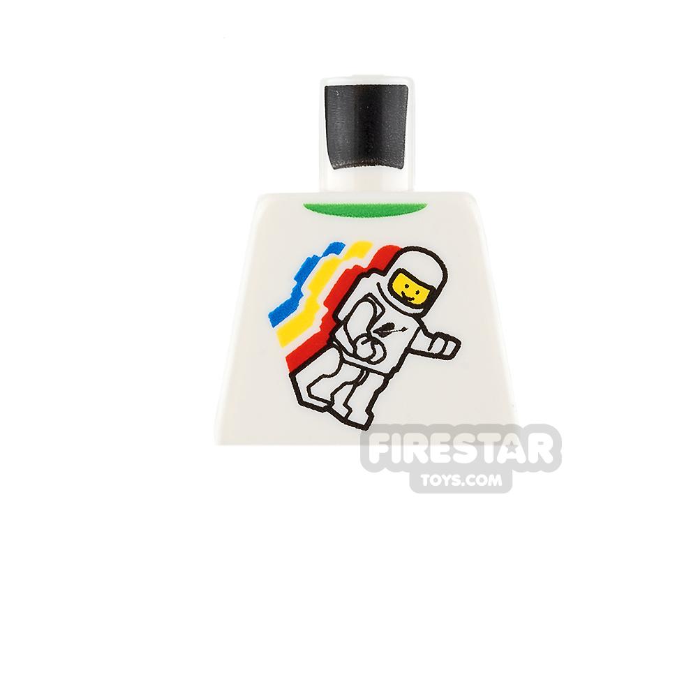 LEGO Mini Figure Torso - Space - Astronaut - No Arms
