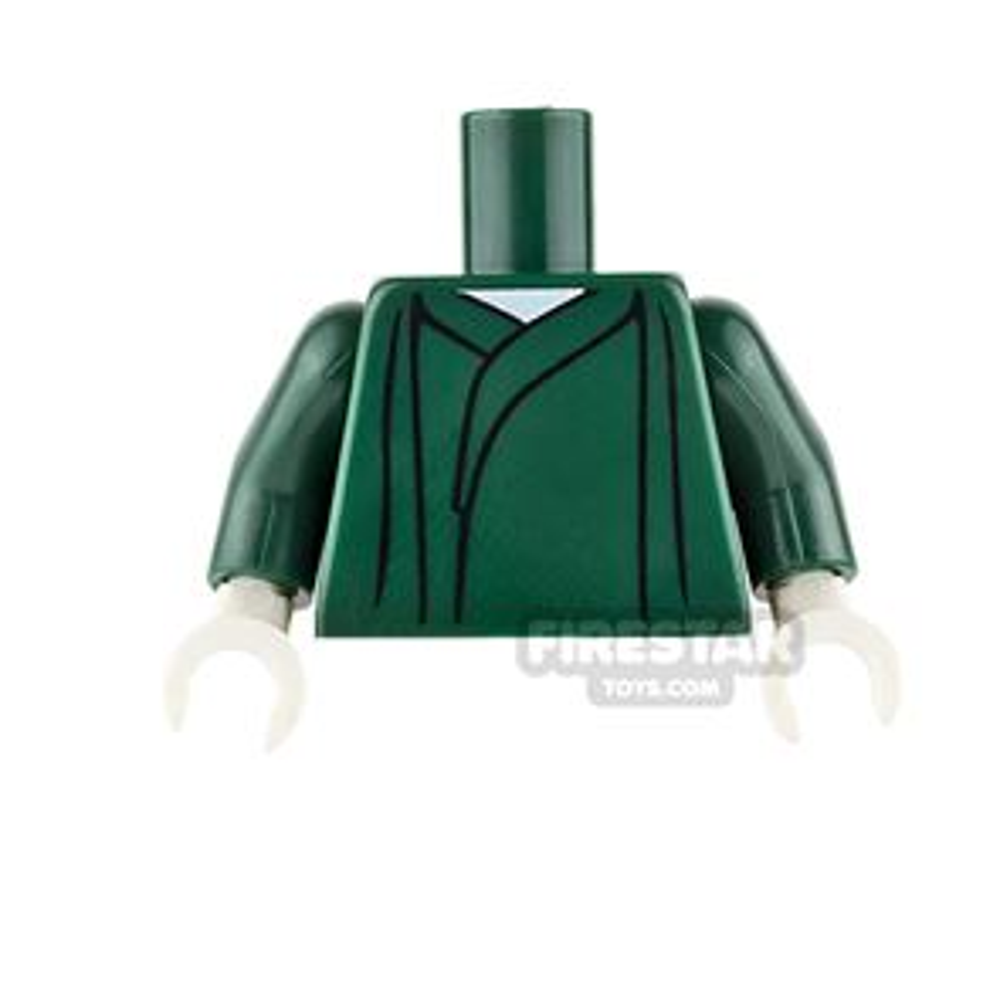 LEGO Mini Figure Torso - Voldemort Dark Green Robe