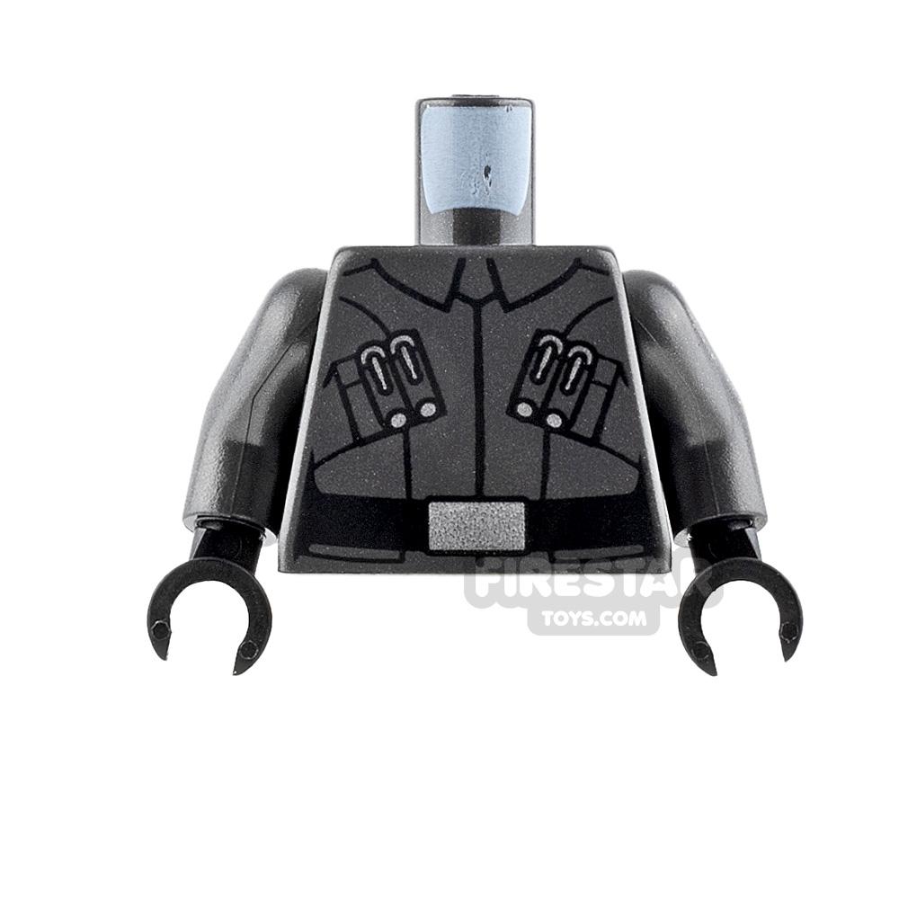 LEGO Mini Figure Torso - First Order Officer Uniform - Male 3