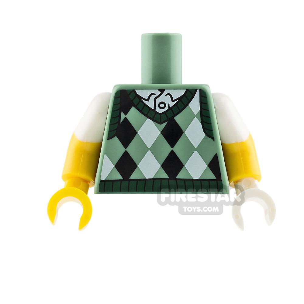 LEGO Mini Figure Torso Golf Jumper