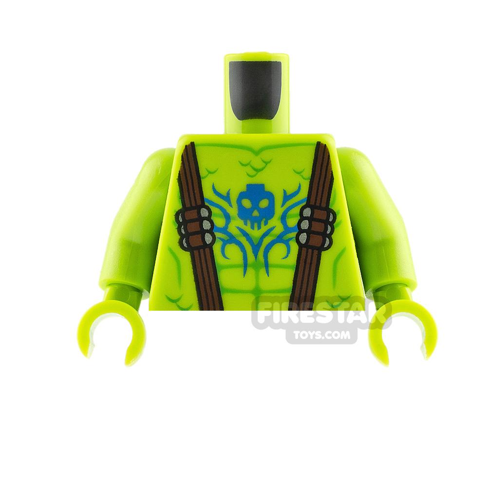 LEGO Mini Figure Torso Swamp Creature