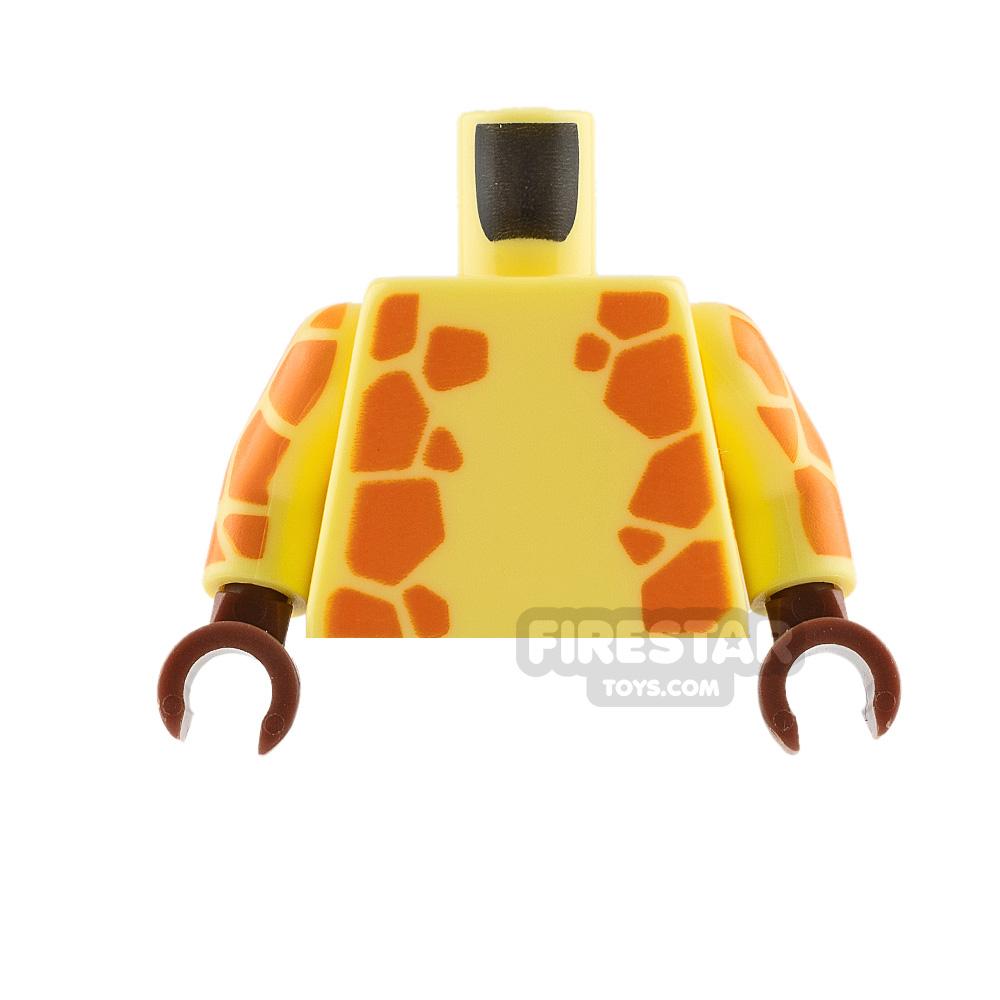 LEGO Mini Figure Torso - Giraffe