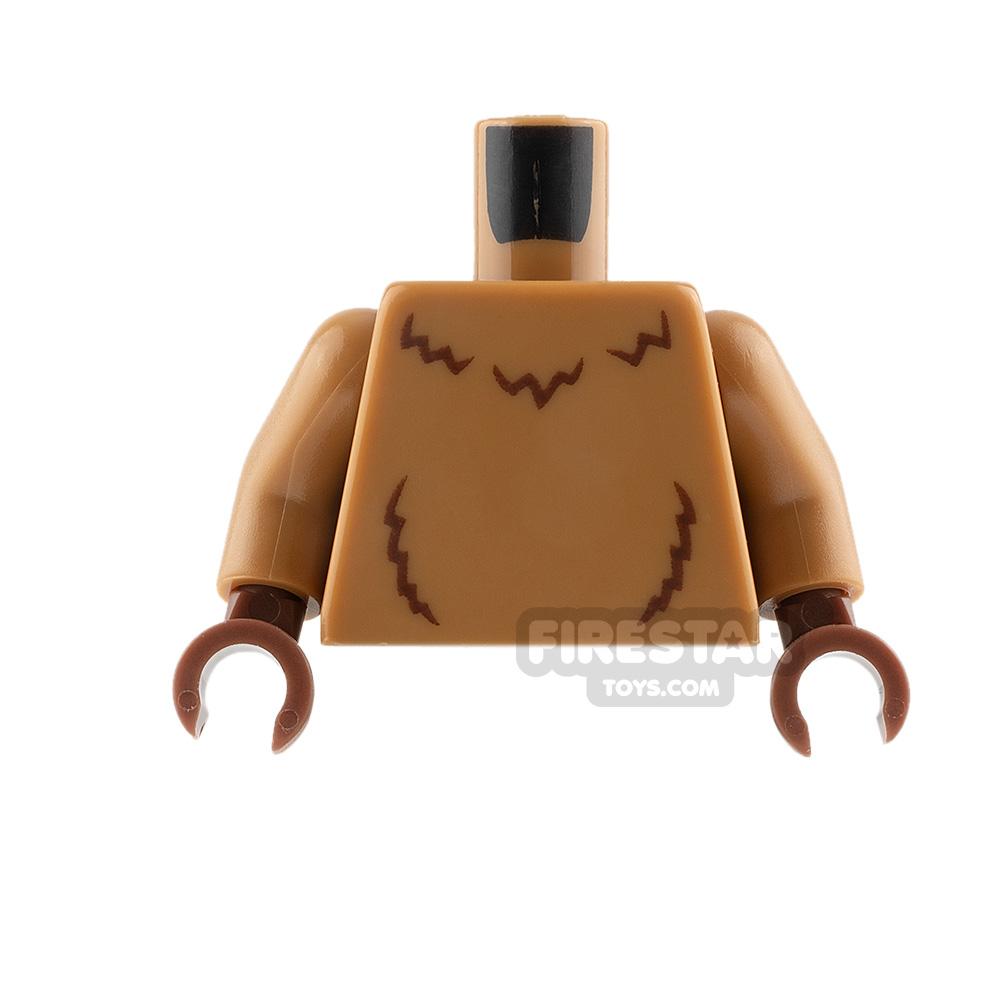 LEGO Mini Figure Torso - Lion - Medium Dark Flesh