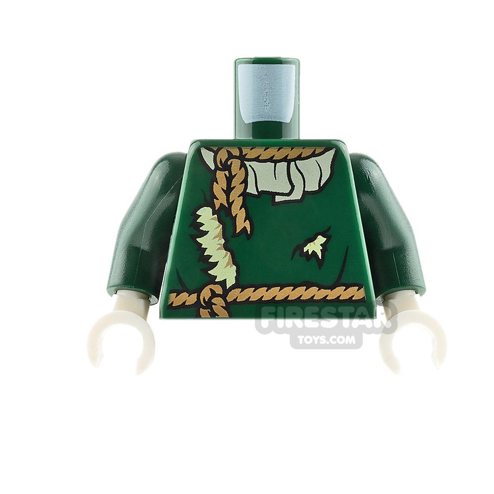 LEGO Mini Figure Torso Scarecrow