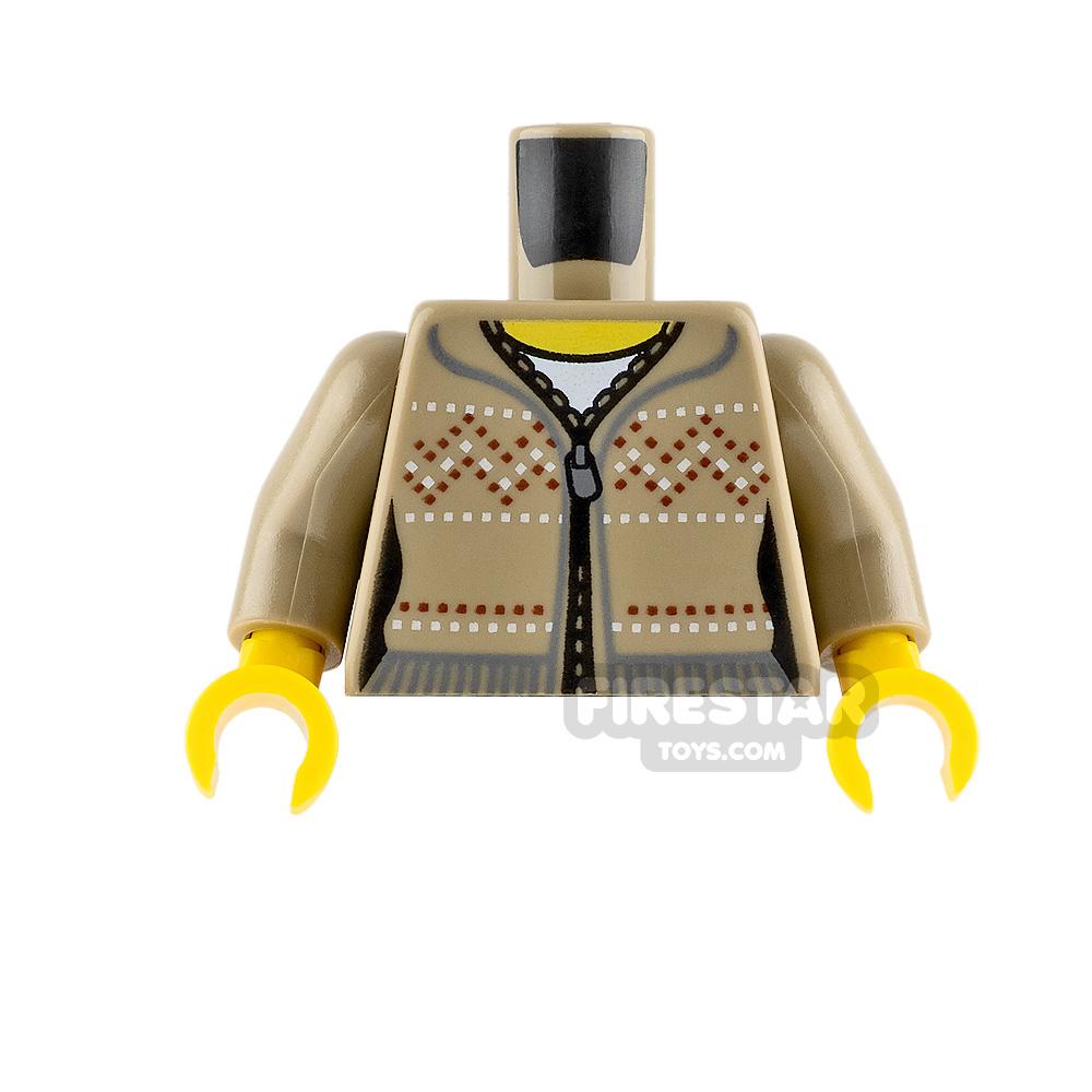 LEGO Minifigure Torso Fair Isle Sweater