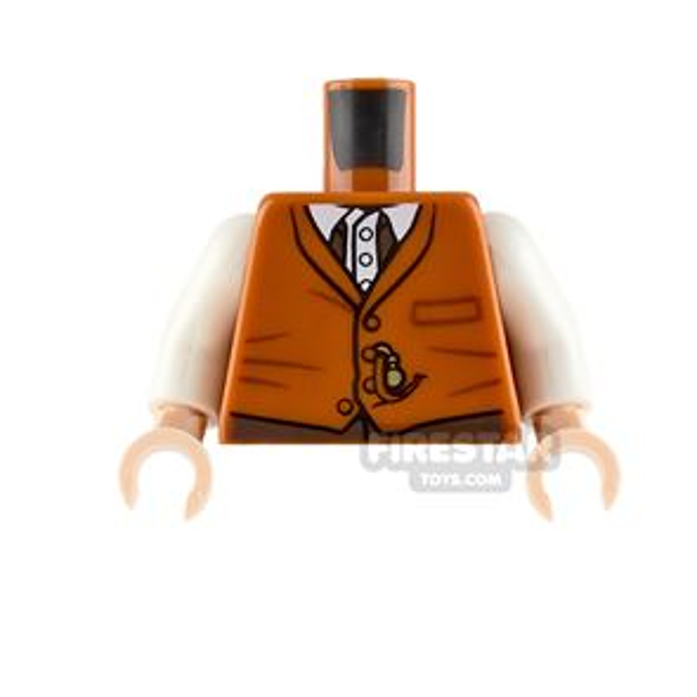 LEGO Minifigure Torso Vest with Shirt