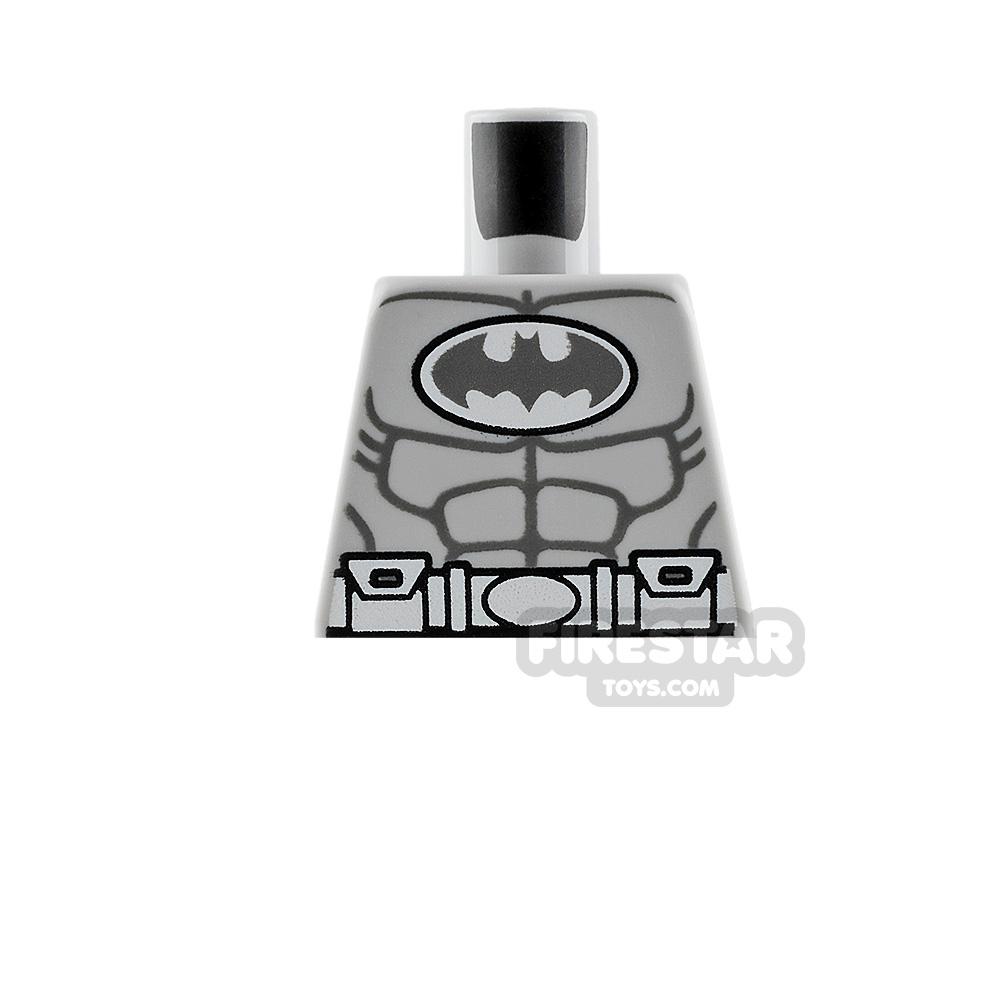 LEGO Minifigure Torso Batman Arctic Suit No Arms