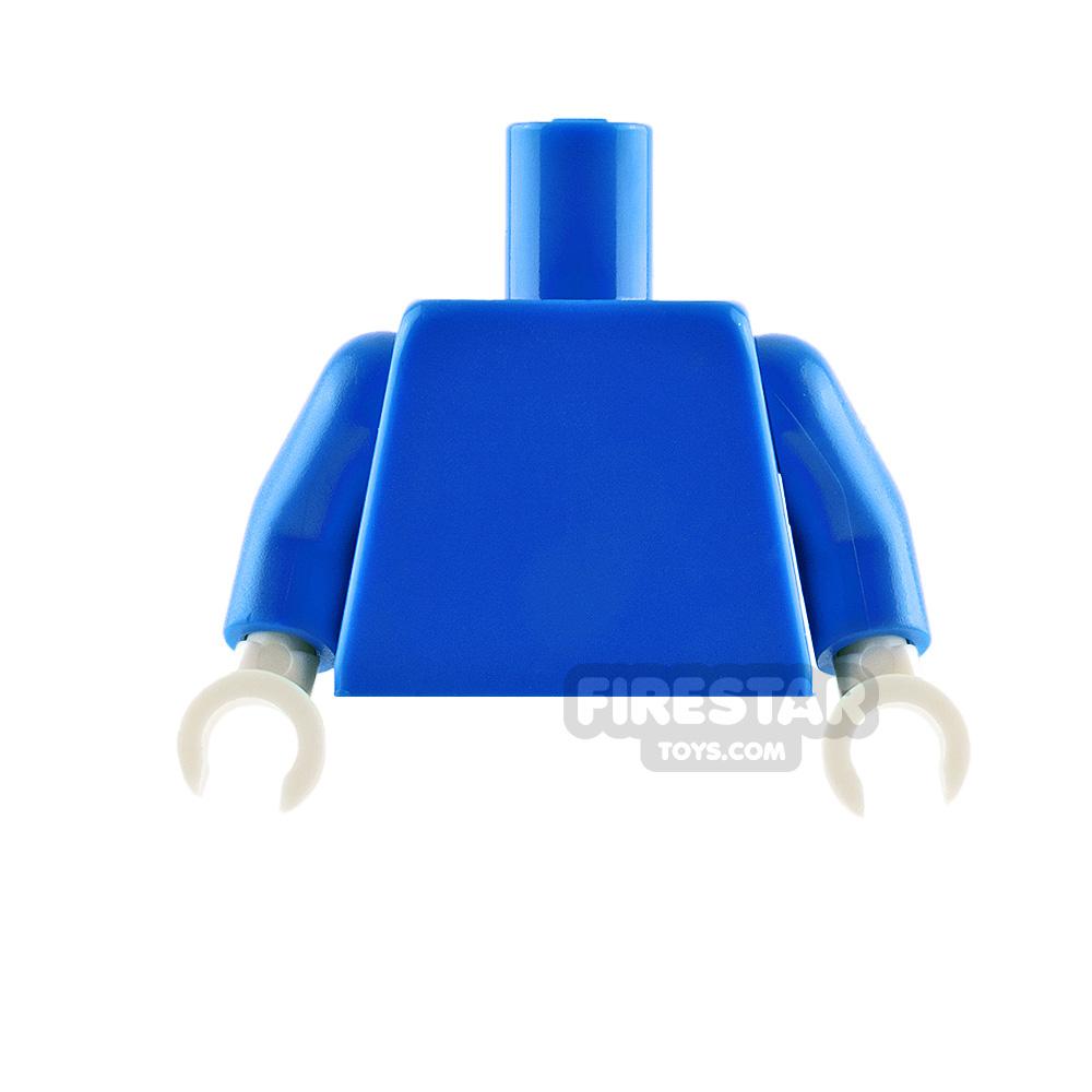 LEGO Minifigure Torso Plain Blue