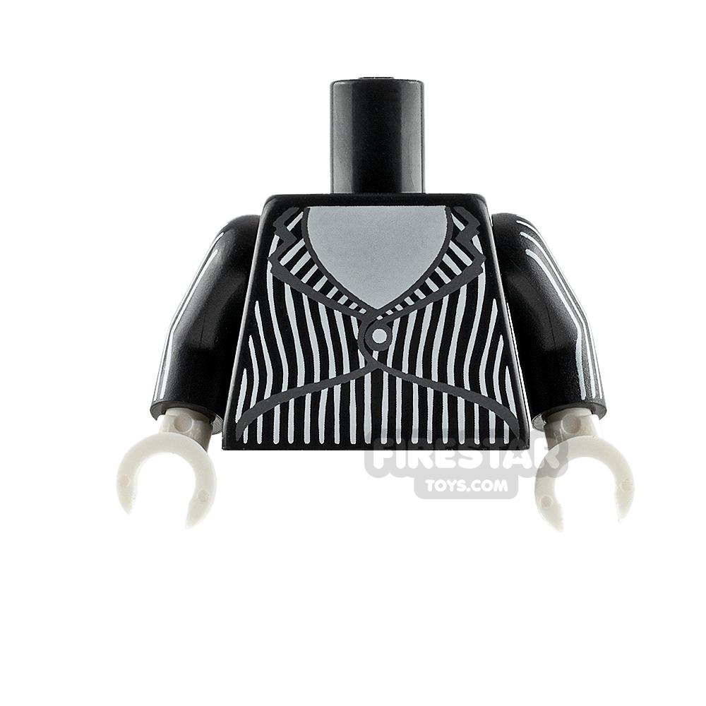 LEGO Minifigure Torso Pinstripe Suit