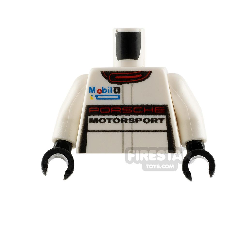LEGO Minifigure Torso Porsche Racing Jacket