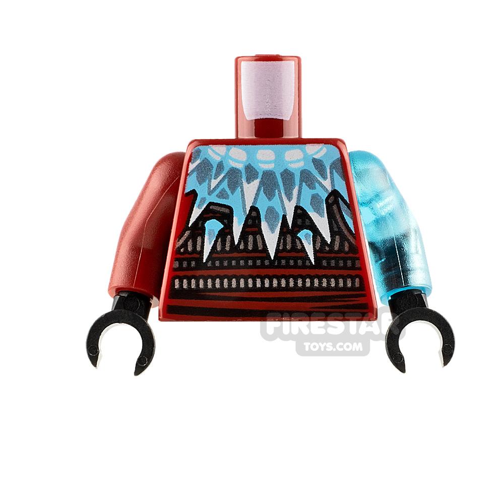 LEGO Minifigure Torso Armour with Ice Spikes