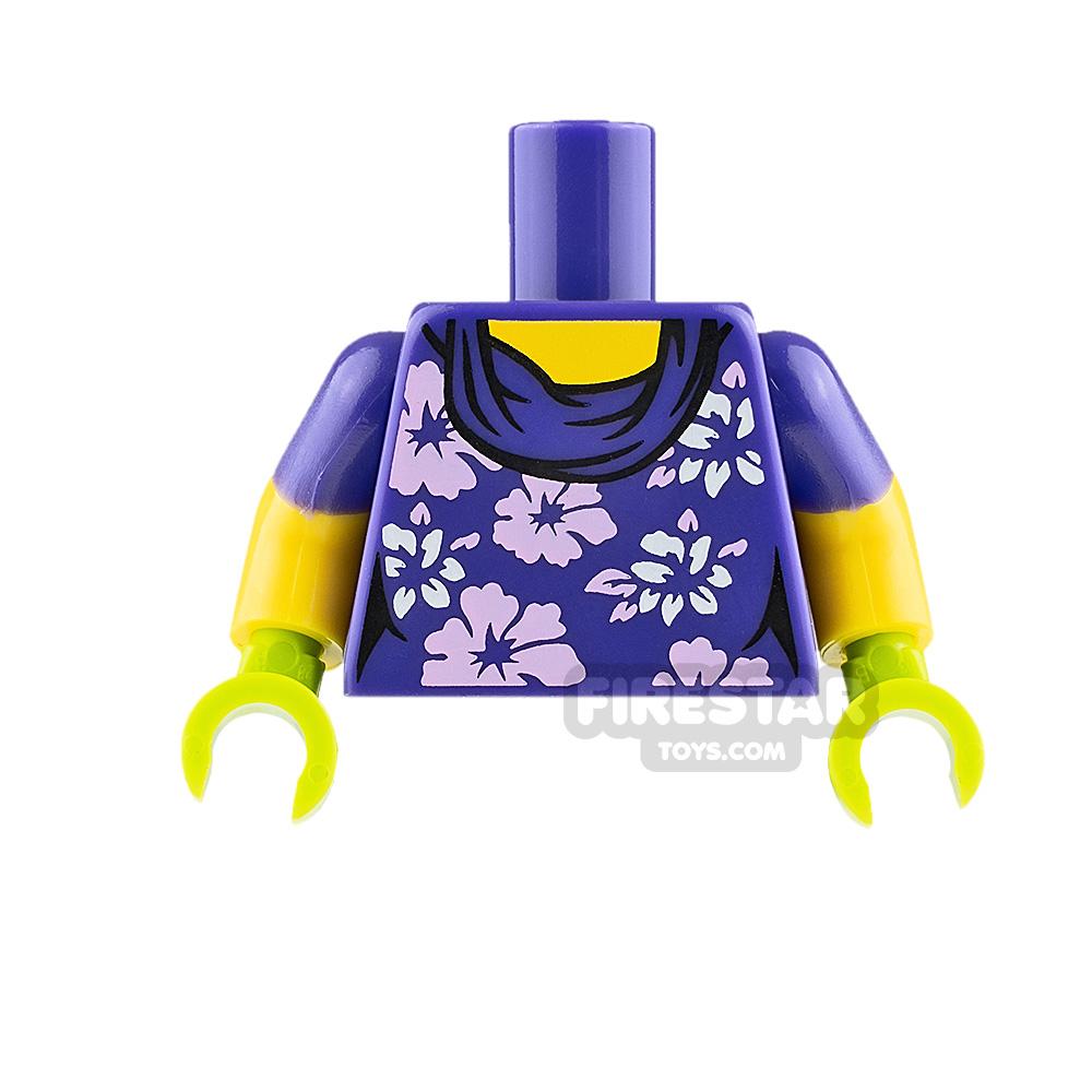 LEGO Minifigure Torso Floral Jumper