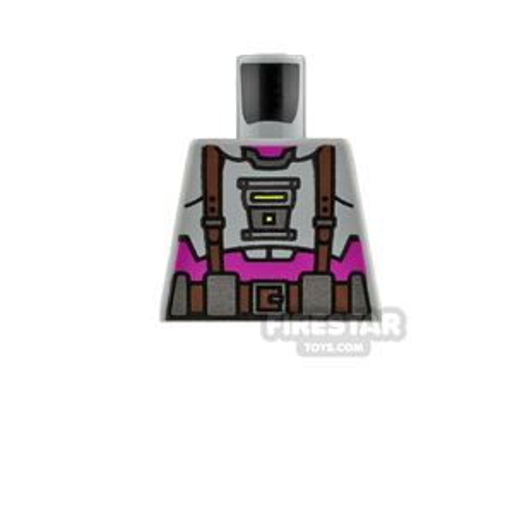 LEGO Minifigure No Arms Torso Baxter Stockman