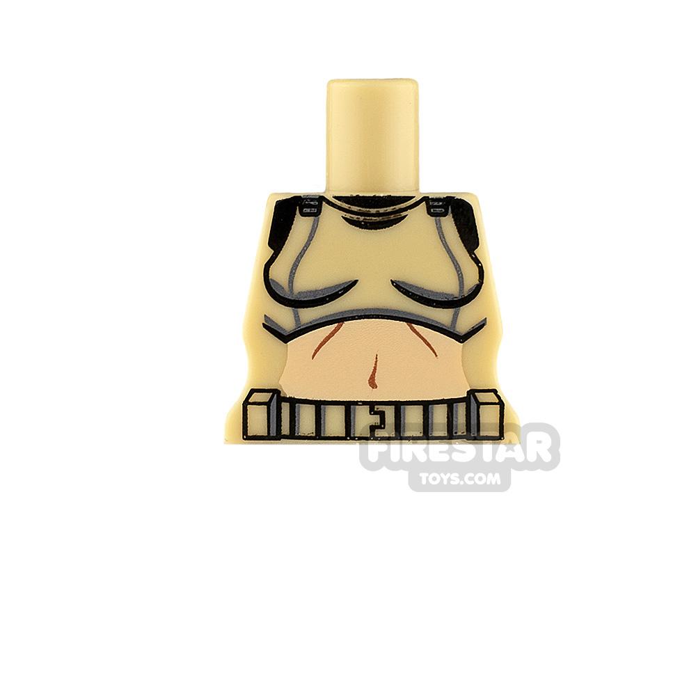 Arealight Minifigure Torso Femtrooper V2