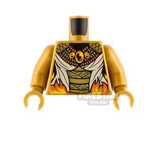 LEGO Minifigure Torso Scales and Wrappings