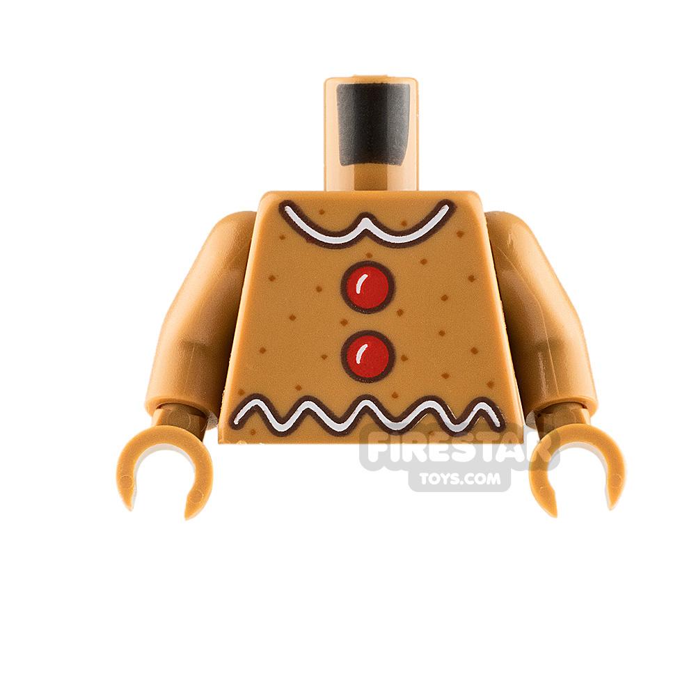 LEGO Minifigure Torso Gingerbread