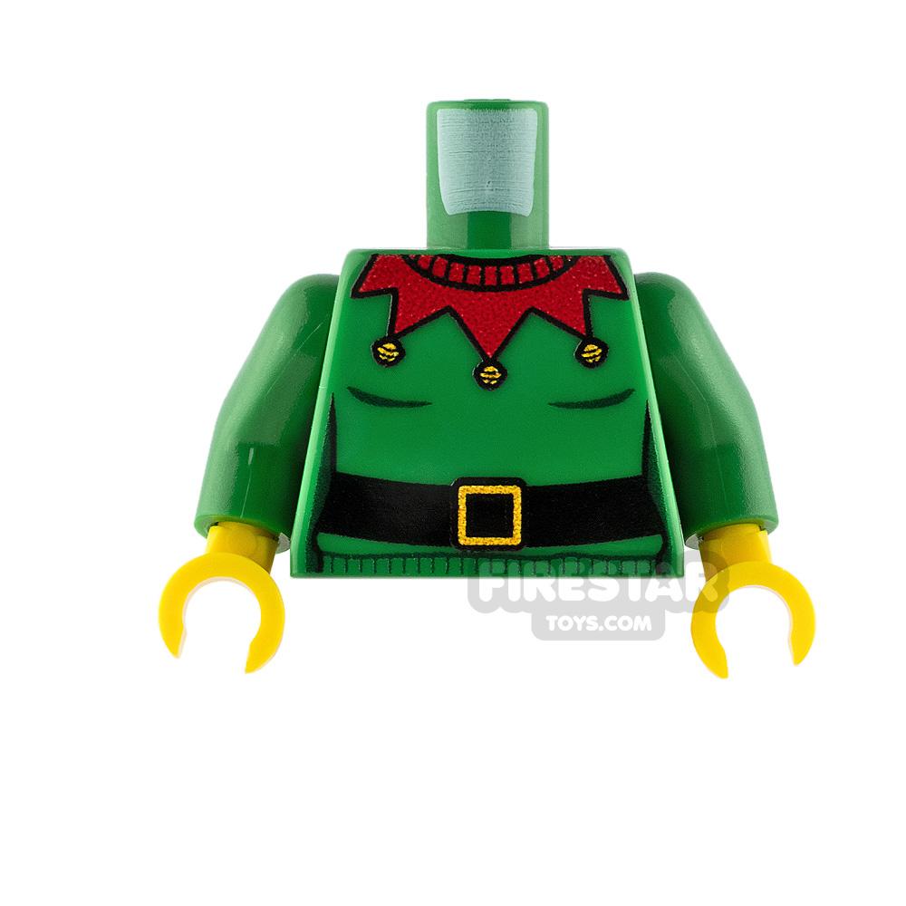 Custom Design Torso Christmas Jumper Elf