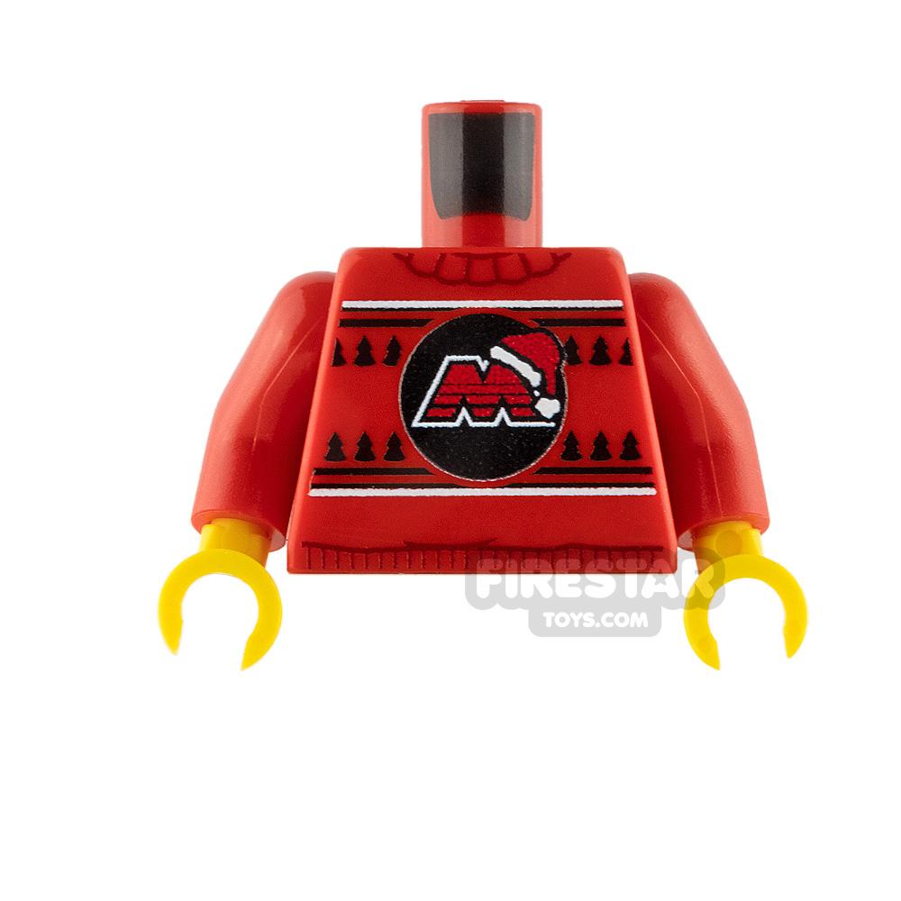 Custom Design Torso Christmas Jumper M-Tron