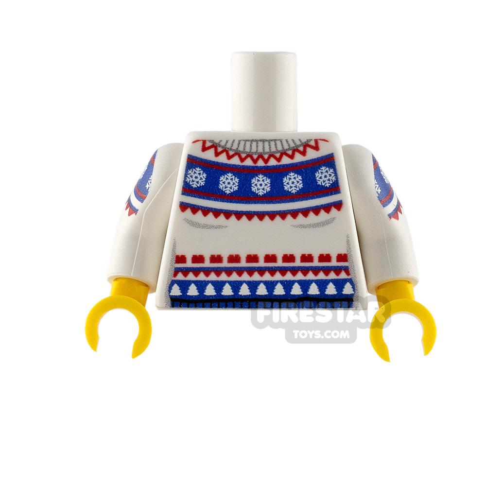 Custom Design Torso Fair Isle Sweater
