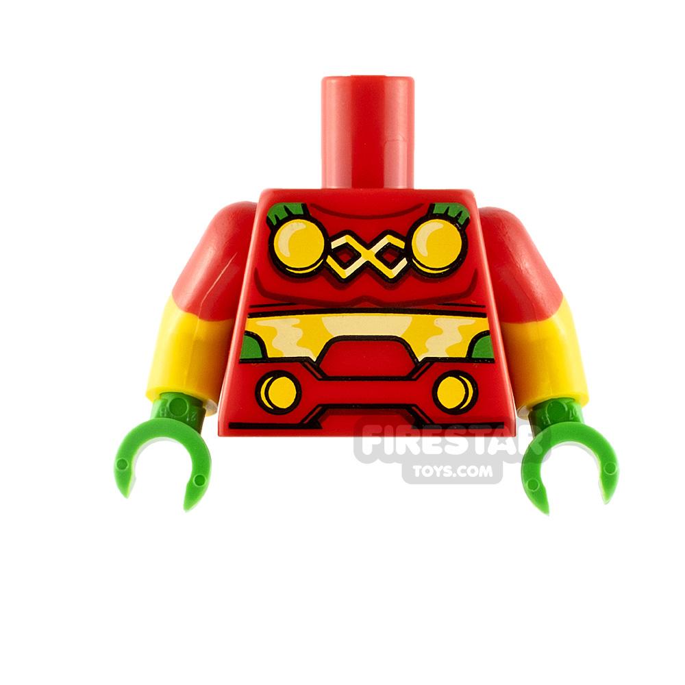 LEGO Minifigure Torso Mister Miracle