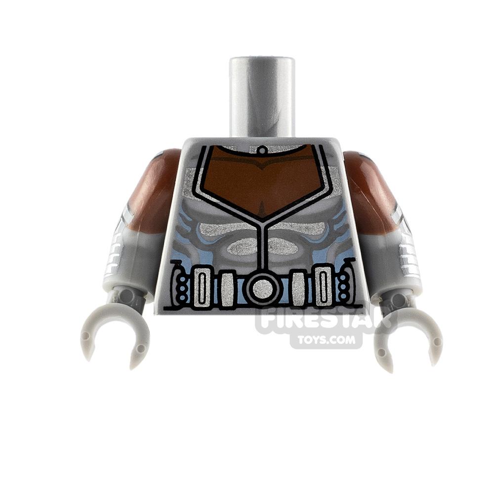 LEGO Minifigure Torso Cyborg Armour
