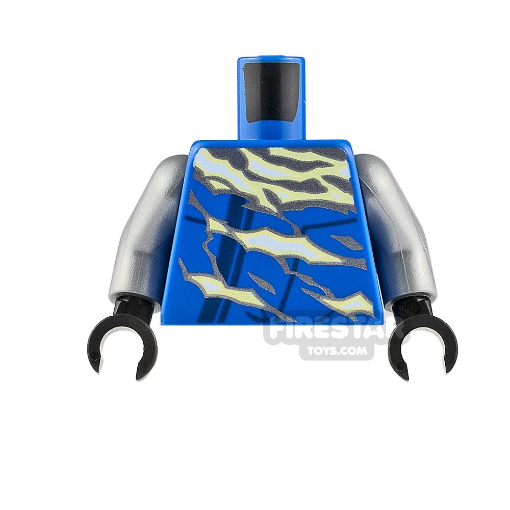 LEGO Minifigure Torso Tunic with Electricity