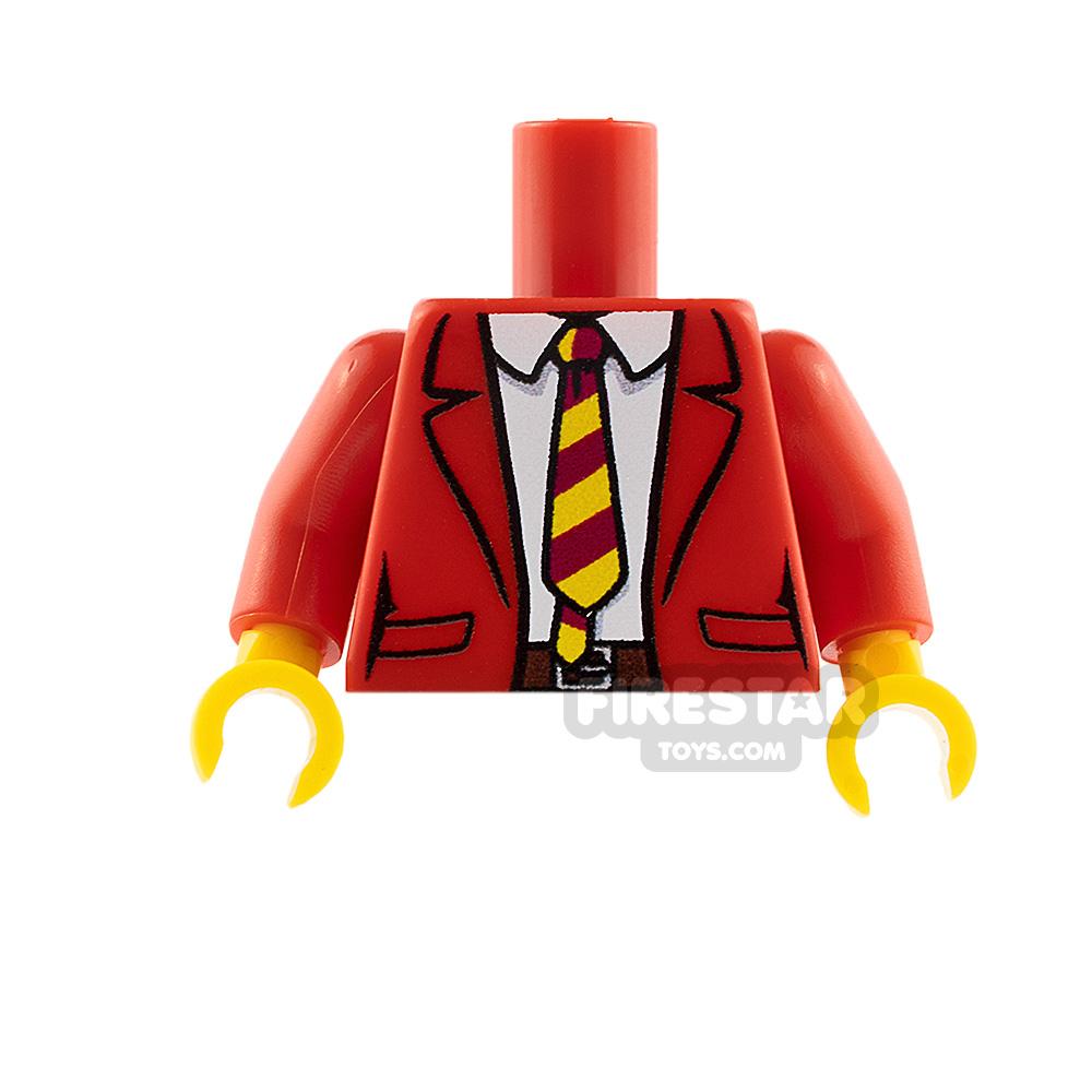 Custom Design Torso Suit Jacket and Tie