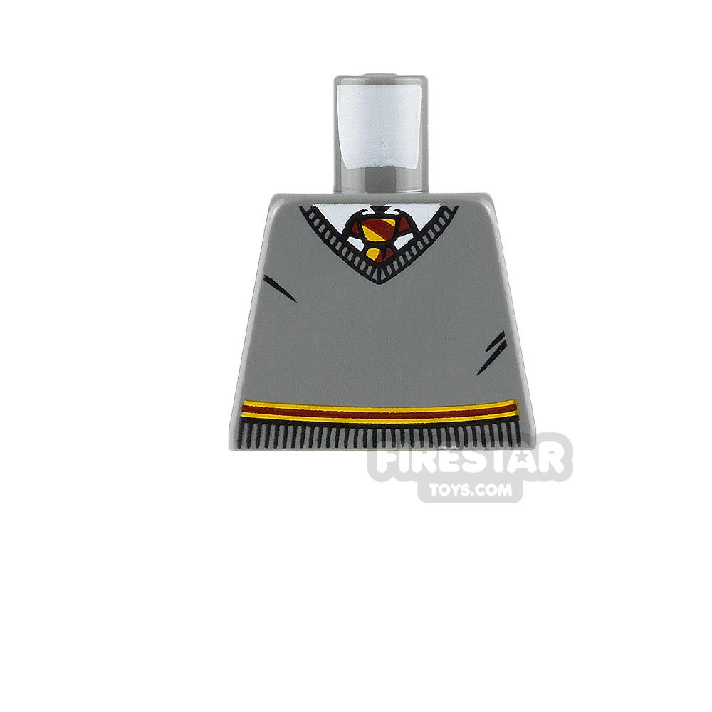 LEGO Minfigure Torso Gryffindor Jumper No Arms