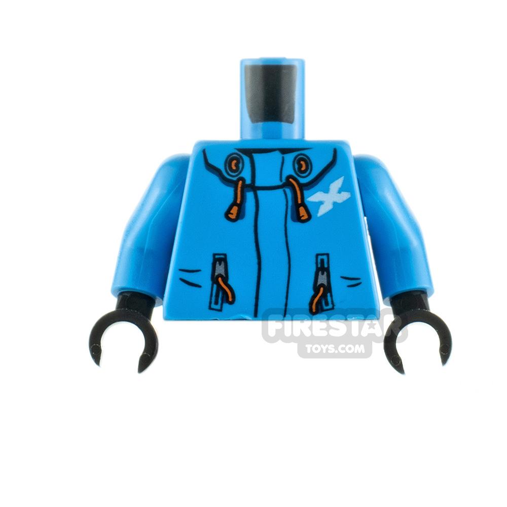 LEGO Minifigure Torso Jacket with Drawstrings